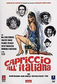 Capriccio all'italiana Poster