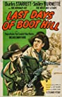 Last Days of Boot Hill (1947) Poster