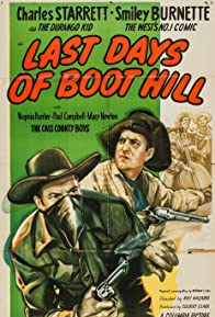 Primary photo for Last Days of Boot Hill
