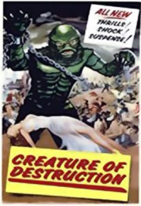 Movies hd 720p free download Creature of Destruction [480x272]