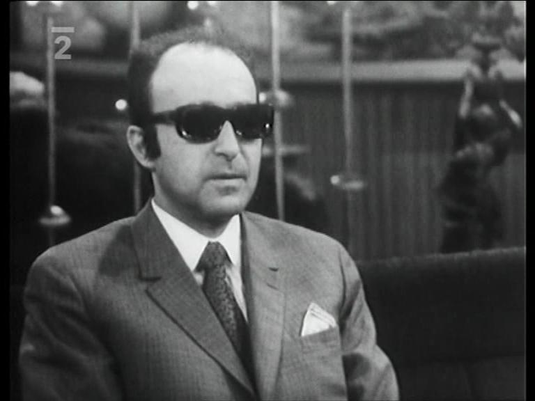 Milan Vágner in Ocitý svedek (1970)