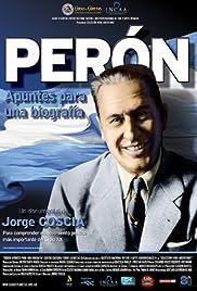 Perón. Apuntes para una biografía Poster