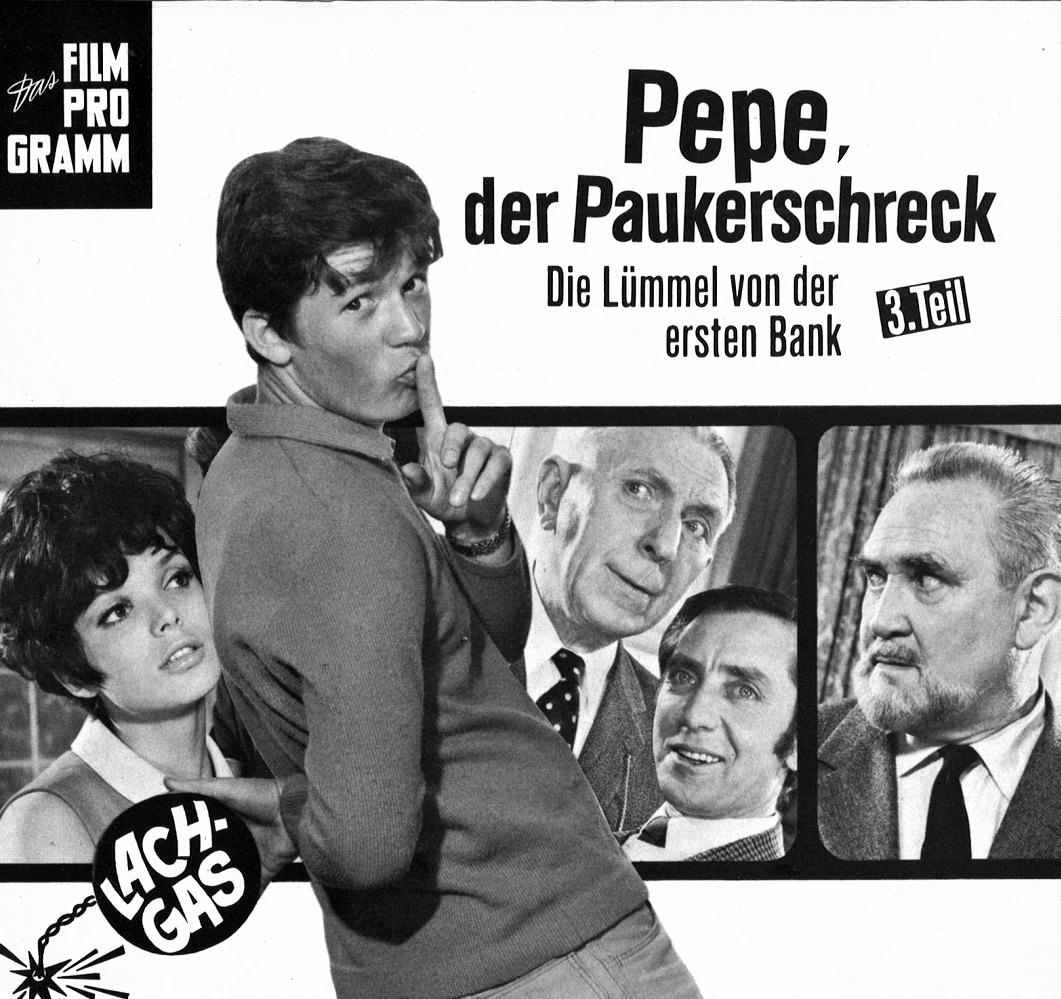 Pepe Der Paukerschreck Die Lümmel Von Der Ersten Bank Iii Teil