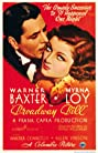 Broadway Bill (1934) Poster