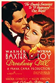 Broadway Bill (1934) Poster - Movie Forum, Cast, Reviews