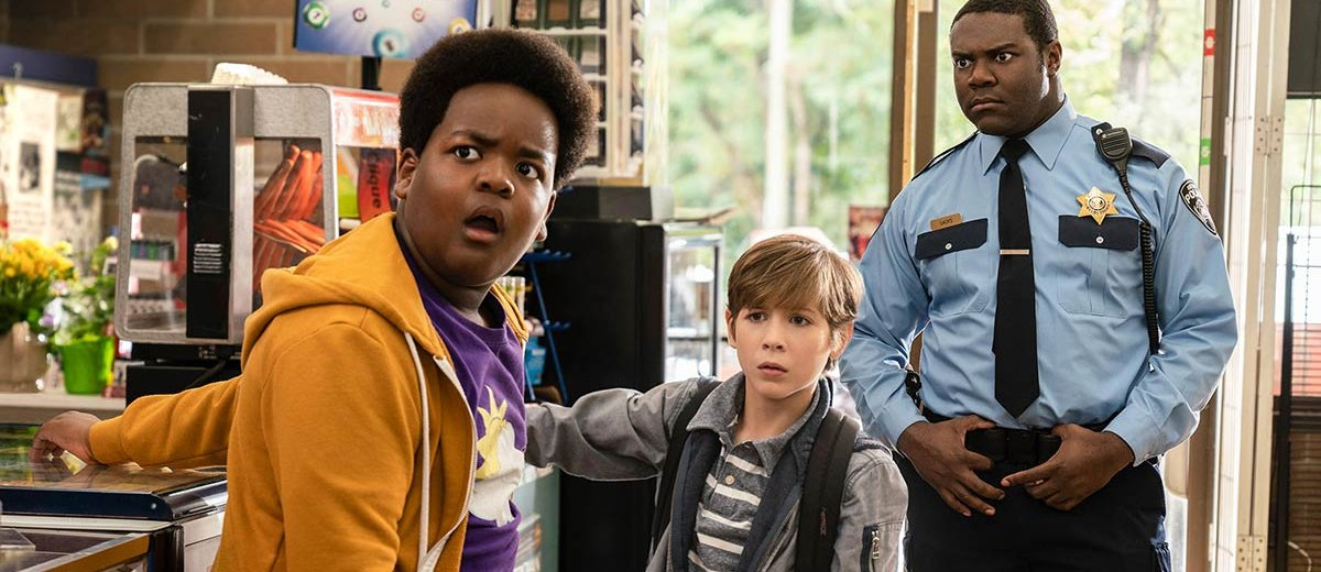 Sam Richardson, Jacob Tremblay, and Keith L. Williams in Good Boys (2019)