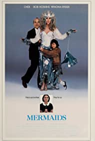 Christina Ricci, Winona Ryder, Cher, and Bob Hoskins in Mermaids (1990)
