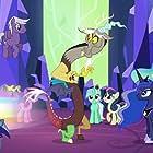John de Lancie, Tabitha St. Germain, Britt McKillip, and Nicole Oliver in My Little Pony: Friendship Is Magic (2010)