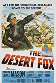 The Desert Fox: The Story of Rommel Poster