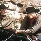 James Arness, John Doucette, Ted Jordan, and Houseley Stevenson in Sierra (1950)