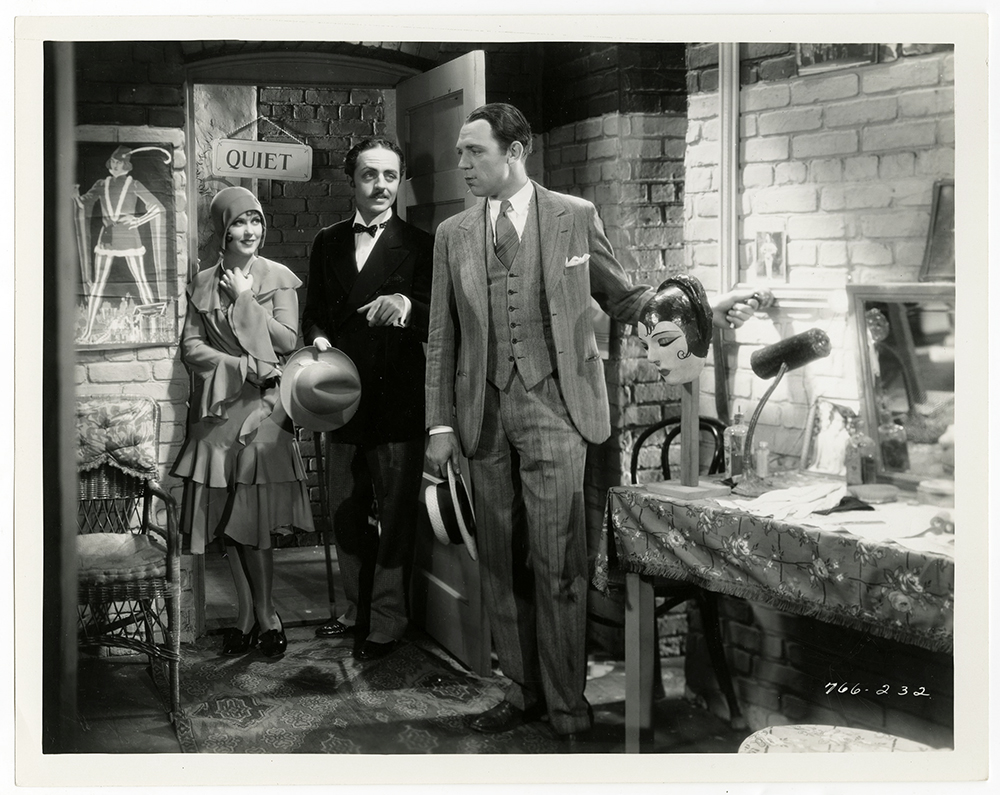 William Powell, Hal Skelly, and Fay Wray in Behind the Make-Up (1930)