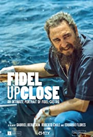 Fidel Up Close Poster