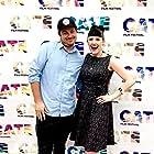 Anastasia Leddick and Will Carnahan at an event for Zoe + Ari (2018)