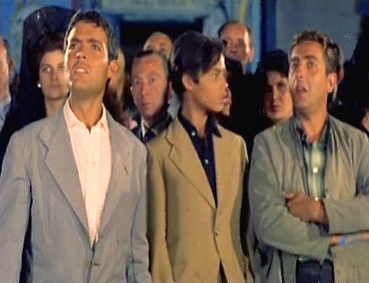 Pedrito Rico, Juan Salazar, and Ángel Ter in Feria en Sevilla (1962)