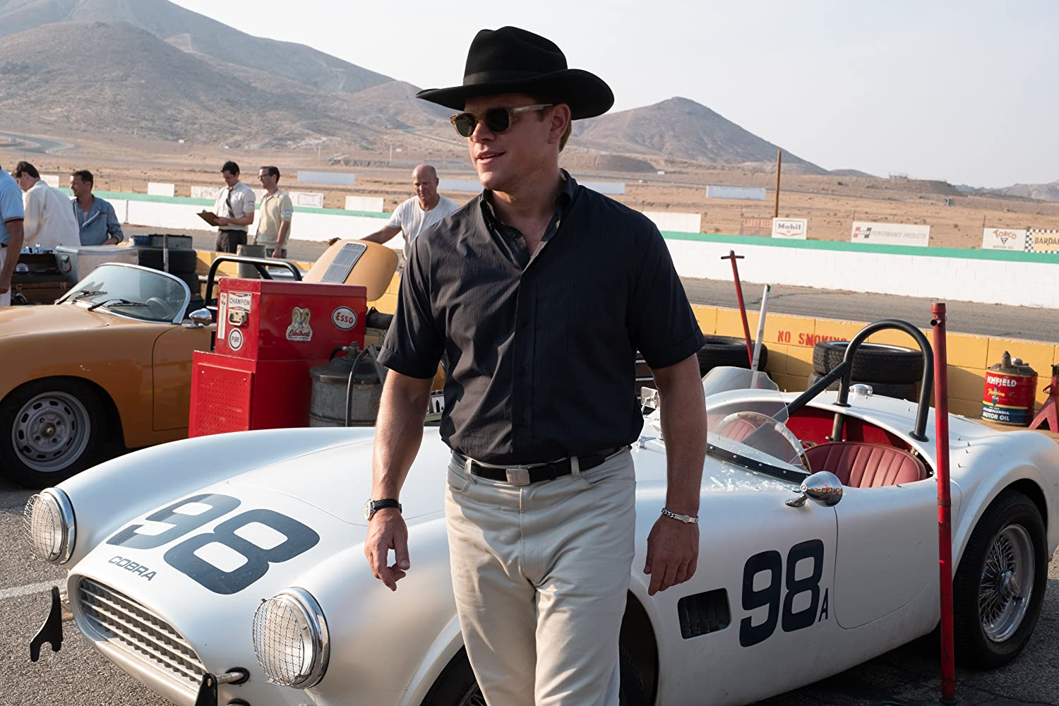 Matt Damon in Ford v Ferrari (2019)