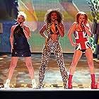 Geri Horner, Emma Bunton, Melanie C, Victoria Beckham, Mel B, and Spice Girls in Brit Awards 1997 (1997)