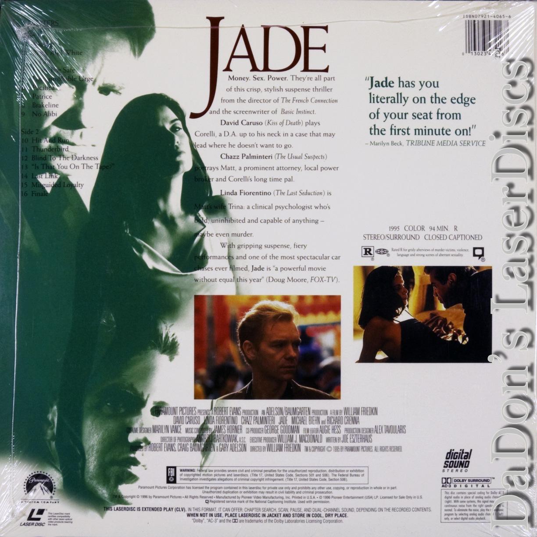 David Caruso and Linda Fiorentino in Jade (1995)