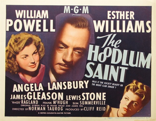 Angela Lansbury, William Powell, and Esther Williams in The Hoodlum Saint (1946)
