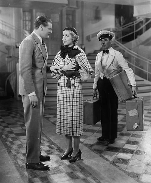 Ralph Forbes and Genevieve Tobin in Pleasure Cruise (1933)