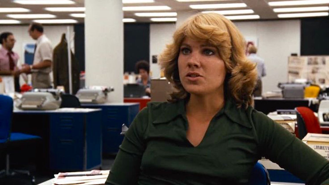 Lindsay Crouse in All the President's Men (1976)