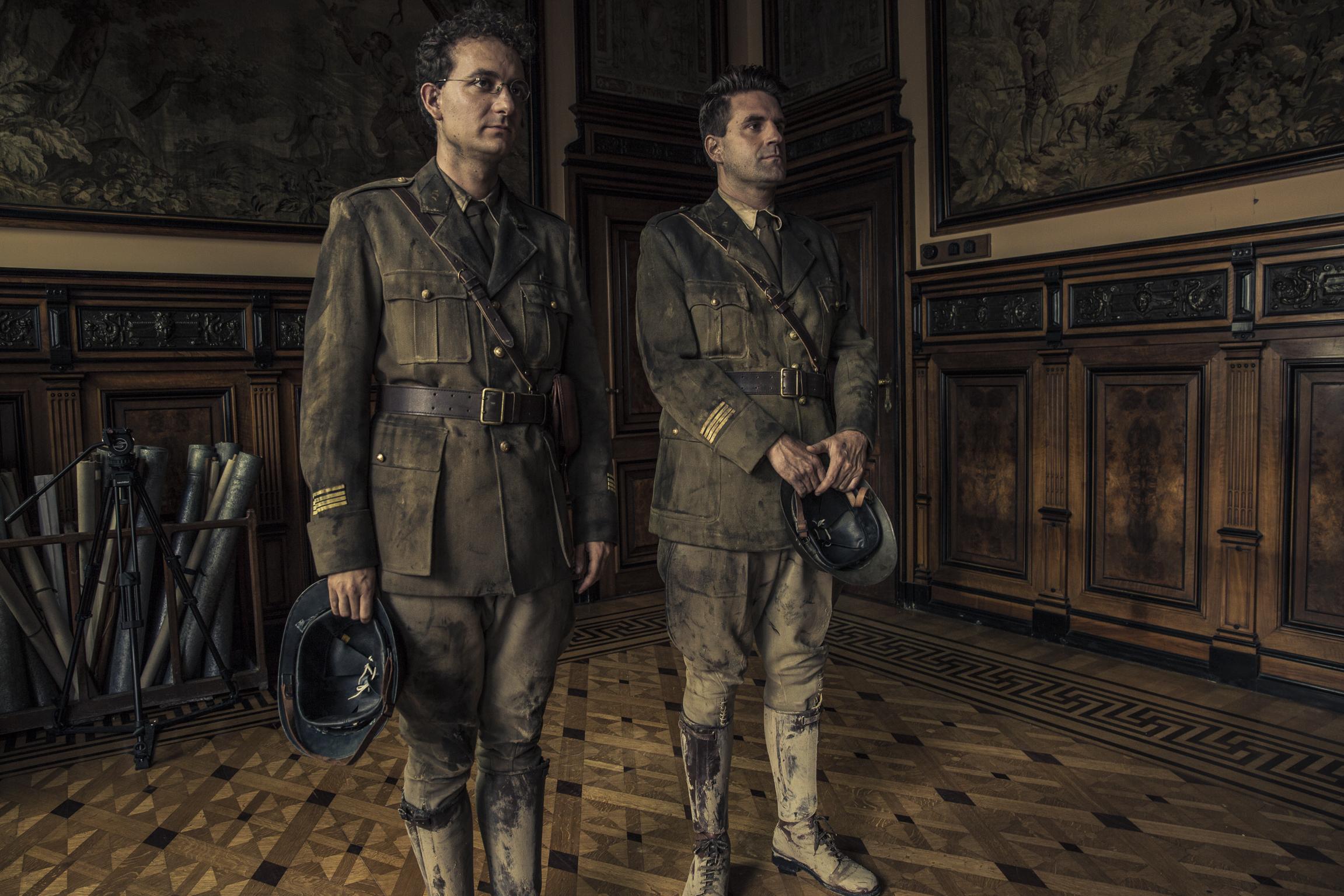 Grégoire Ludig and David Marsais in La folle histoire de Max et Léon (2016)