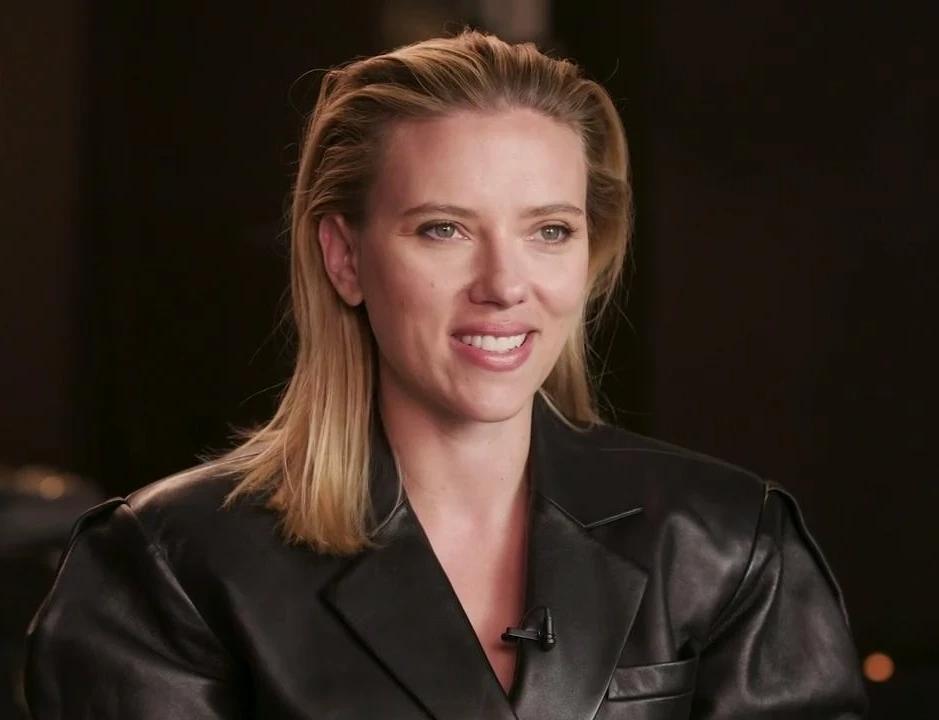 Scarlett Johansson at an event for Black Widow (2021)