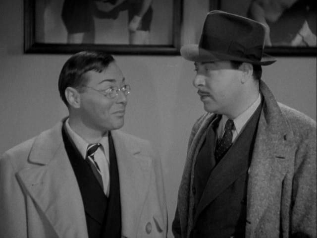 Peter Lorre and Harold Huber in Mr. Moto's Gamble (1938)