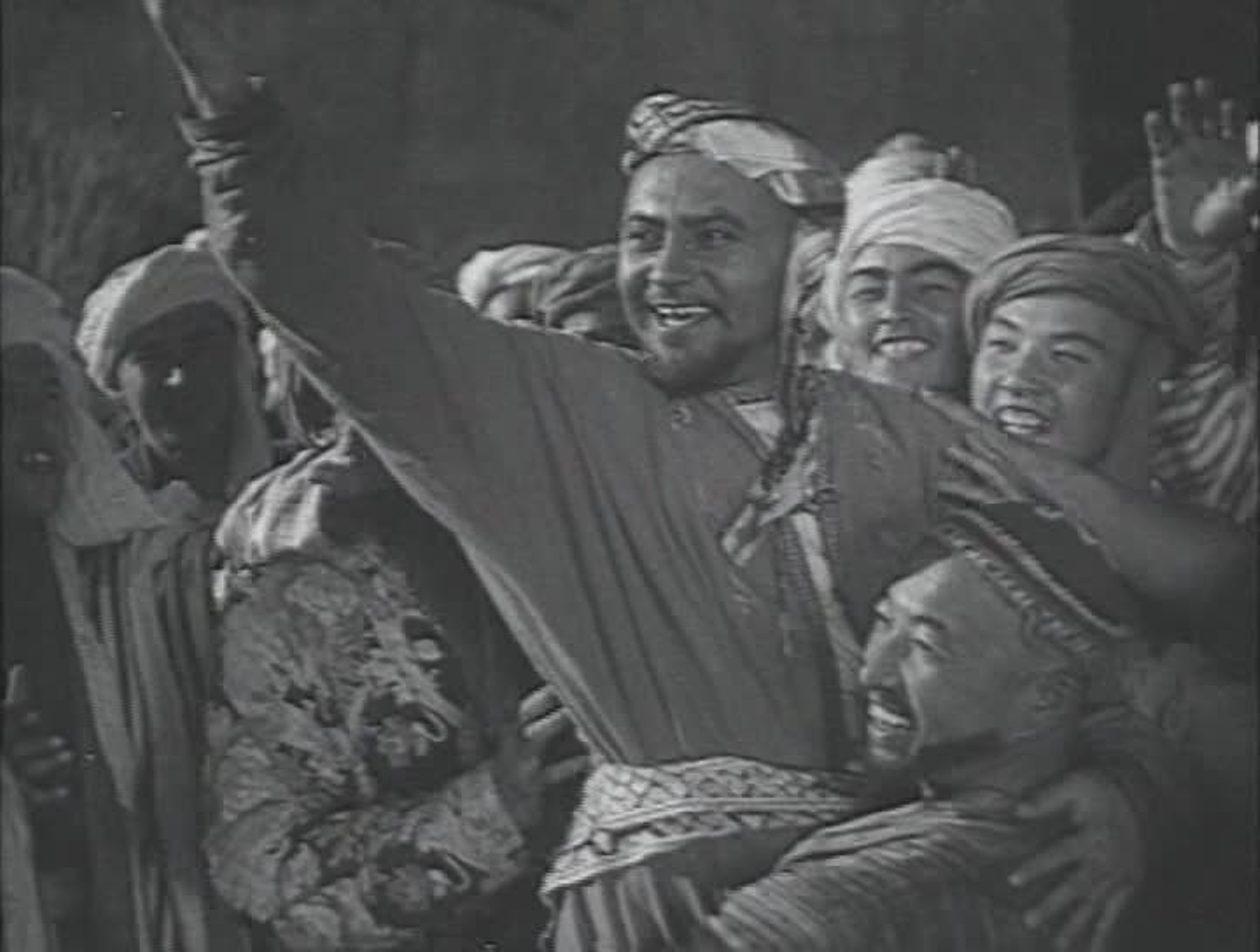 Lev Sverdlin in Nasreddin v Bukhare (1943)