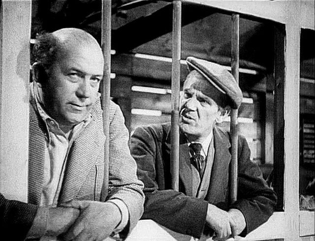 Will Hay and Edgar Kennedy in Hey! Hey! U.S.A! (1938)