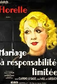 Primary photo for Mariage à responsabilité limitée