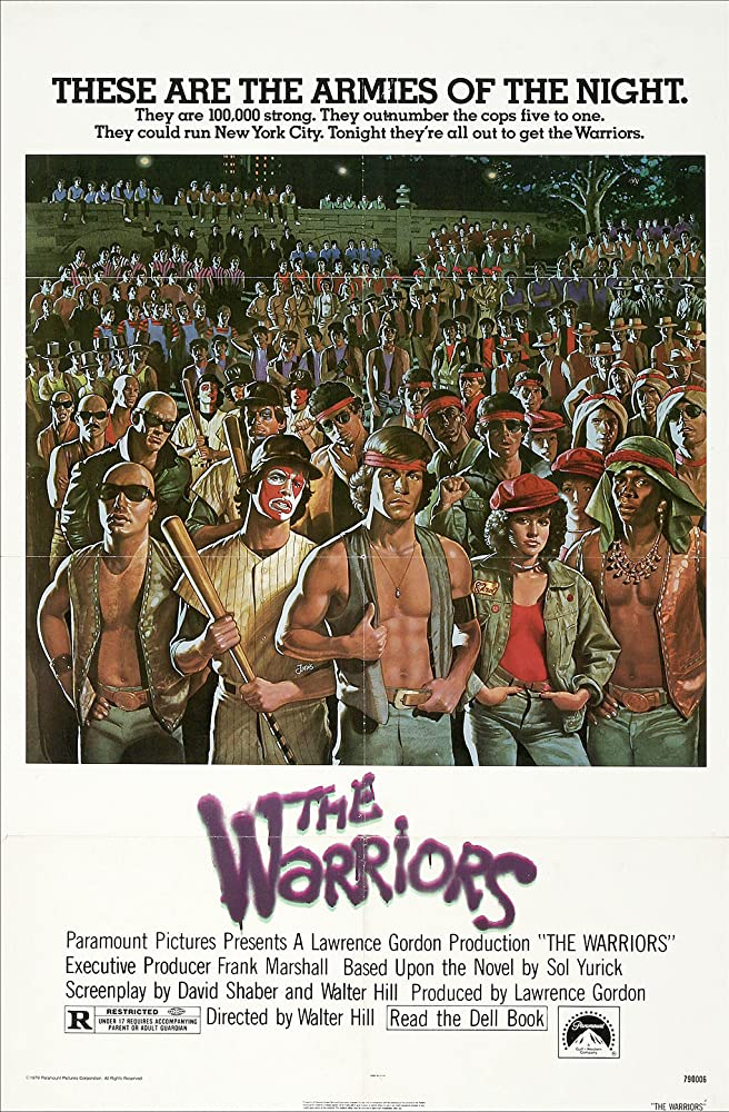 The Warriors 1979 Dual Audio Hindi 350MB BluRay