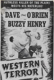 Buzzy Rides the Range Poster