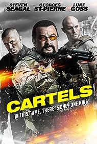 Steven Seagal, Luke Goss, and Georges St-Pierre in Cartels (2017)