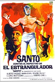 Santo vs. the Ghost of the Strangler Poster