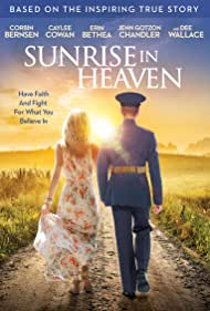 Corbin Bernsen, Dee Wallace, Jenn Gotzon, Erin Bethea, Travis Burns, and Caylee Cowan in Sunrise in Heaven (2019)