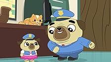 Police Pug Chip