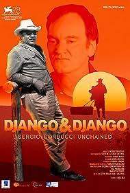 Quentin Tarantino and Sergio Corbucci in Django & Django (2021)