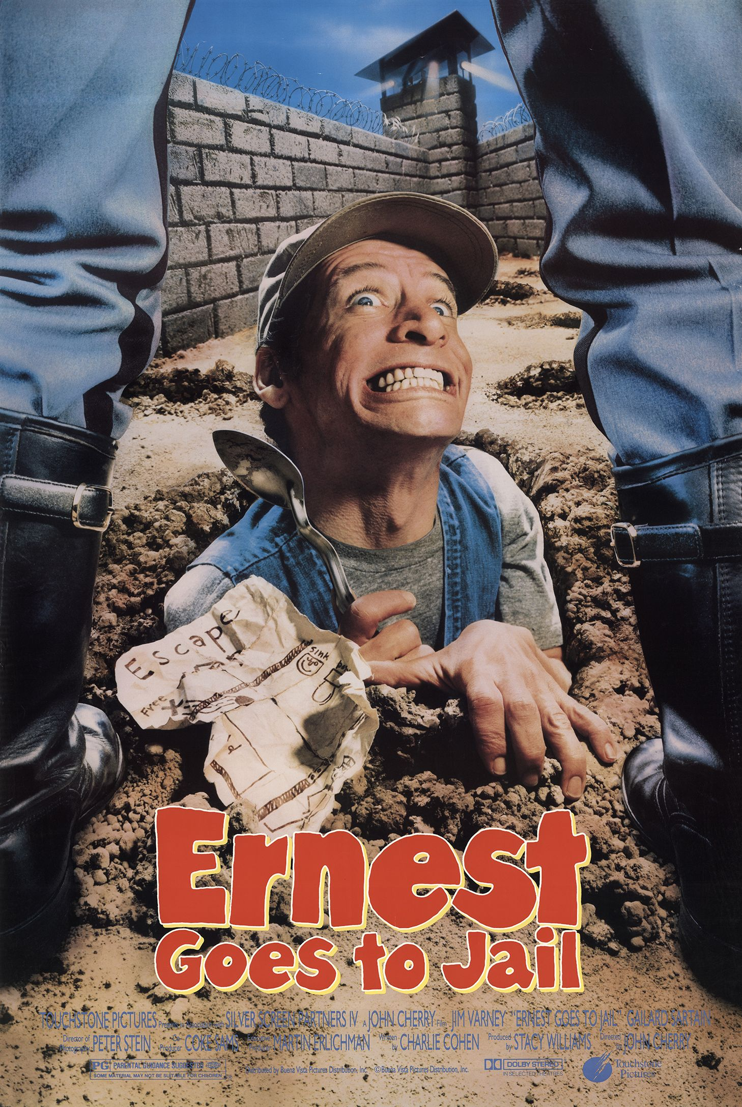 ernest goes to jail quotes