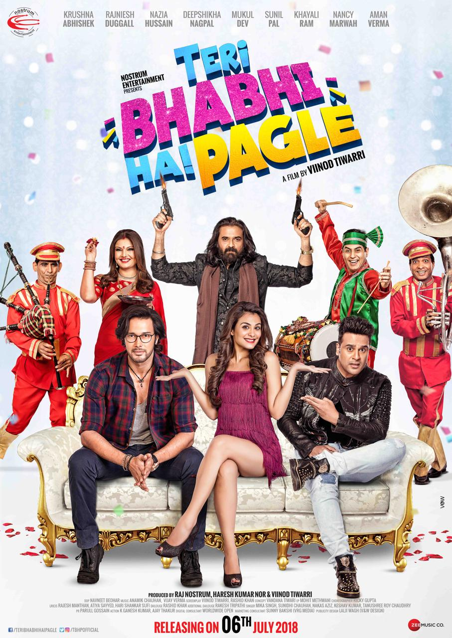 Teri Bhabhi Hai Pagle 2018 Hindi Movie HDRip x264 AAC 300MB Download