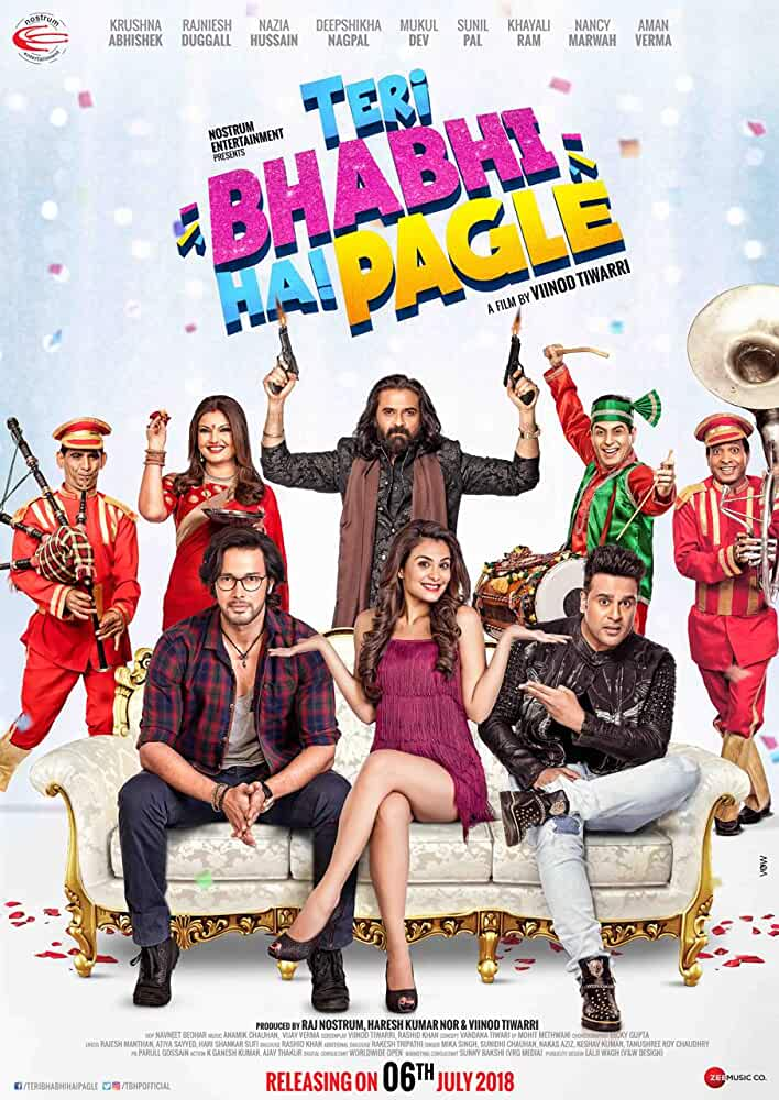 Teri Bhabhi Hai Pagle (2018) Hindi 720p HDRip x264 AAC [900MB]
