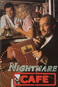Robert Englund, Jack Coleman, and Lindsay Frost in Nightmare Cafe (1992)