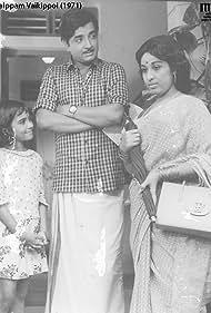 Prem Nazir and Sheela in Aval Alpam Vaikippoyi (1971)