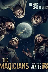 Stella Maeve, Summer Bishil, Hale Appleman, Olivia Taylor Dudley, and Arjun Gupta in The Magicians (2015)