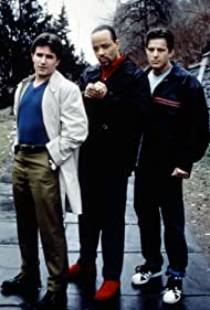 Ice-T, Frank John Hughes, and Costas Mandylor in Players (1997)