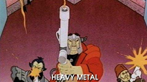 Heavy metal anime