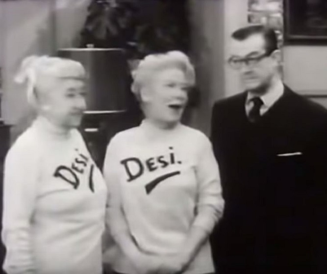 Spring Byington, Verna Felton, and Joseph Kearns in December Bride (1954)