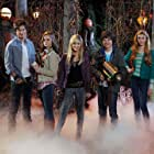 Luke Benward, Kerris Dorsey, Brendan Meyer, Katherine McNamara, and Olivia Holt in Girl Vs. Monster (2012)