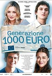 Generazione mille euro Poster