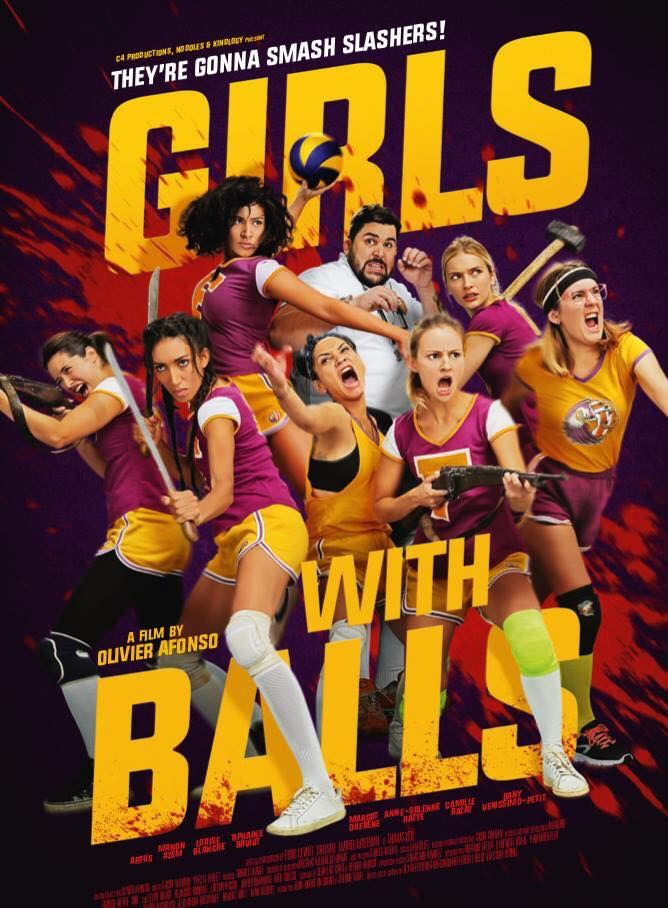 Girls With Balls 2018 Dual Audio Hindi ORG 720p WEBRip 600MB Download