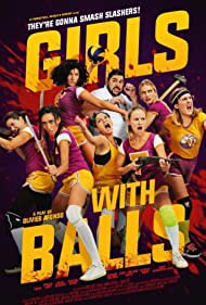 Dany Verissimo-Petit, Anne-Solenne Hatte, Louise Blachère, Manon Azem, Margot Dufrene, Camille Razat, Tiphaine Daviot, and Artus in Girls with Balls (2018)